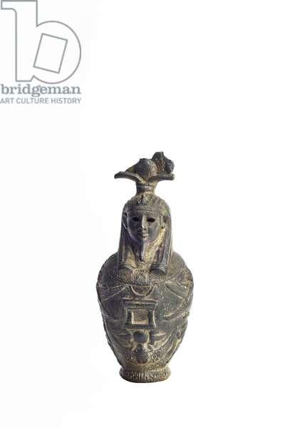 Osiris-in-Hydria (Water Jar), 1st century (bronze)