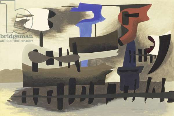 Untitled, 1938 (gouache on paper)