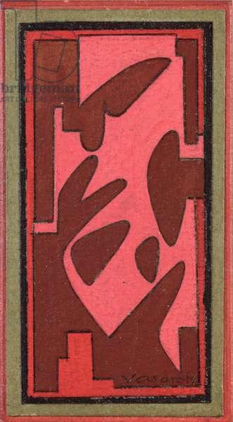 Untitled, 1941 (oil on cardboard)
