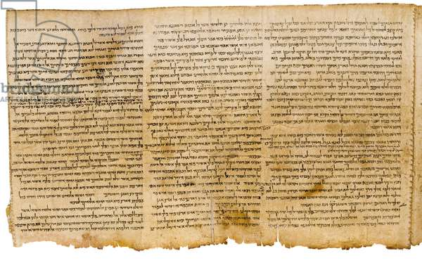 The Great Isaiah Scroll, columns 28-30, Qumram Cave I, c.100 BC (parchment)