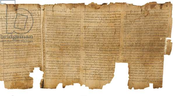 The Great Isaiah Scroll, col.1-4, Qumran Cave I, c.100 BC (parchment)