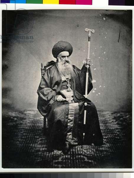 Syrian Patriarch of Jerusalem, 1850s (gelatin silver print)