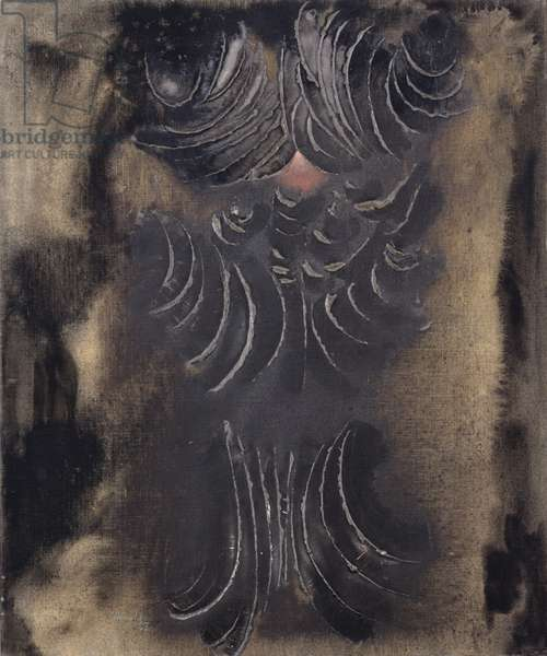 The Shield, 1966 (oil on canvas)