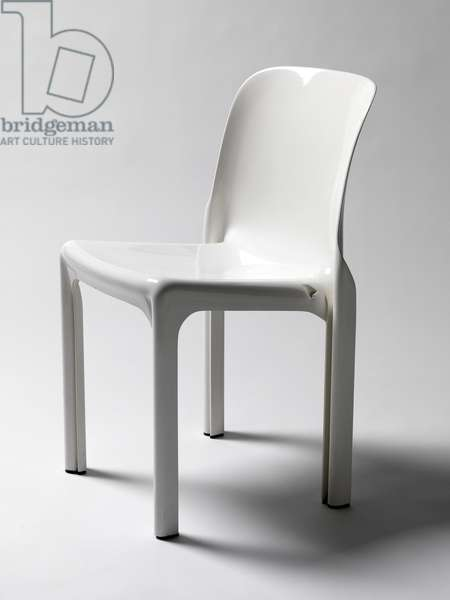 Selene chair, 1968 (compression-molded plastic)