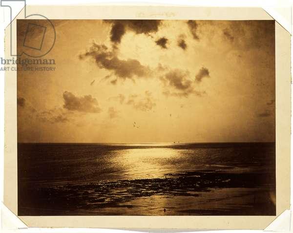 Effet de Soleil, Ocean no. 23, 1856 (albumen print)