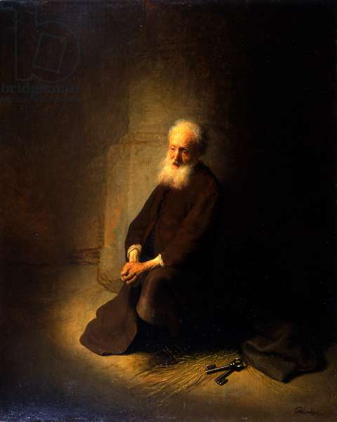 St. Peter in Prison, 1631 (oil on panel)