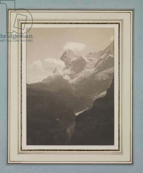The Jungfrau, 1897 (platinum print)