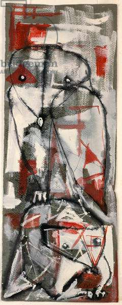Untitled, 1956 (ink, gouache & w/c on paper)