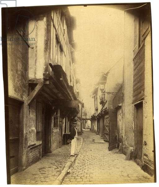 Beauvais - Impasse Beauregard, 1904 (gelatin silver print)