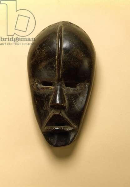 Dan mask, Ivory Coast, late 19th-early 20th century (wood)