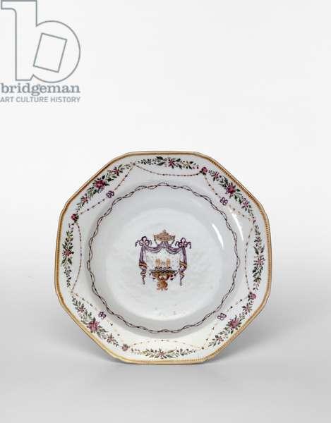 Decorative plate (porcelain)