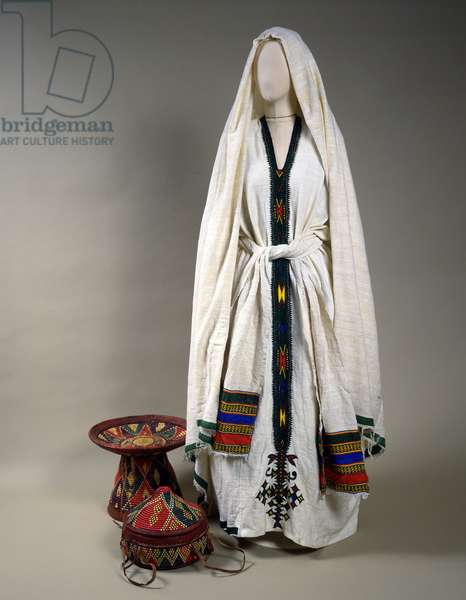 Costume of a Jewish Woman (textile)