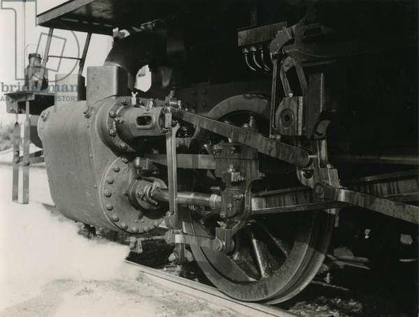Palestine Railways, Lod, c.1930 (b/w photo)