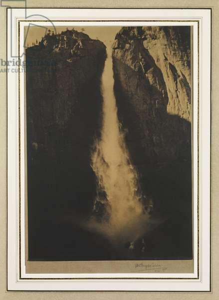 Yosemite Falls, 1911 (gum-platinum print)