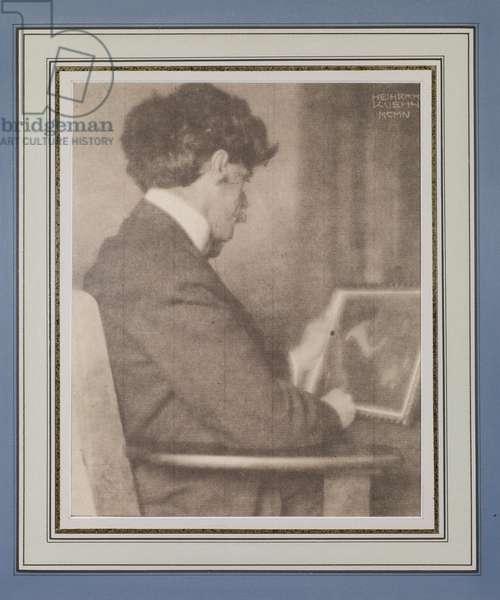 Alfred Stieglitz, 1904 (gum bichromate print)