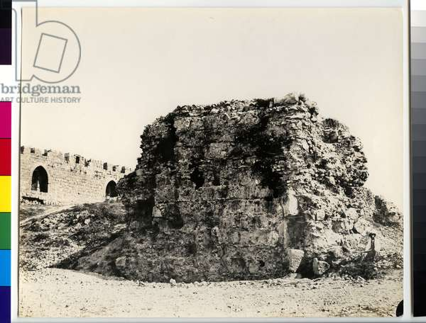 Tancred's or Goliath's Tomb, 1850s (gelatin silver print)