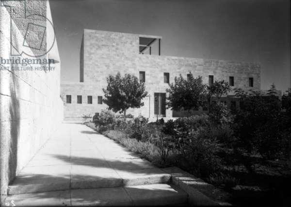 The Schocken Library, Jerusalem, c.1936 (gelatin silver print)