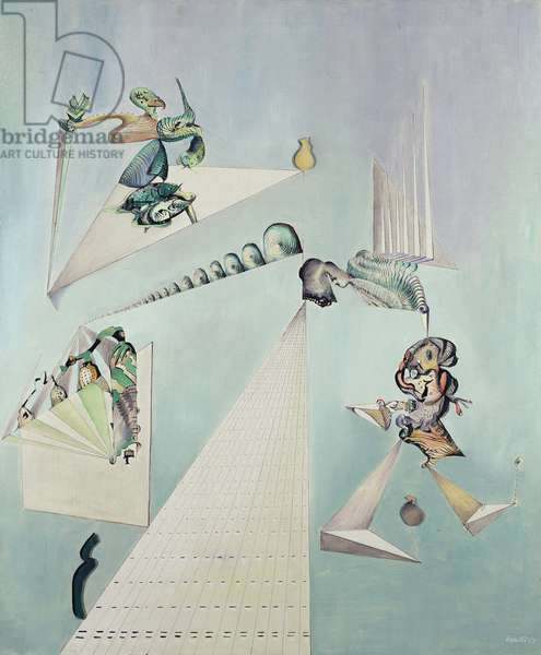 The Strings of the Wind, 1947 (oil on canvas)