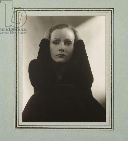 Portrait of Greta Garbo, 1928 (gelatin silver print)