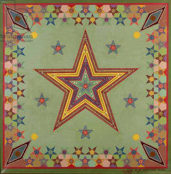 Star, 1942 (oil on canvas)