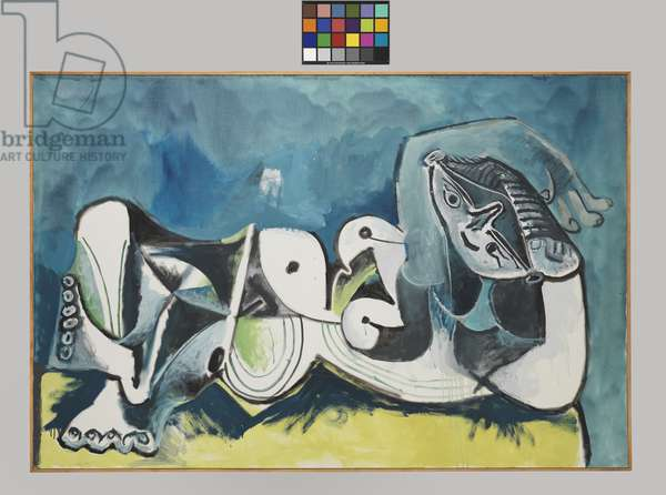 Reclining Nude, 1964 (oil on canvas)