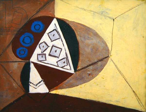 The Fruit Bowl, 1946 (oil on cardboard mounted on linen)