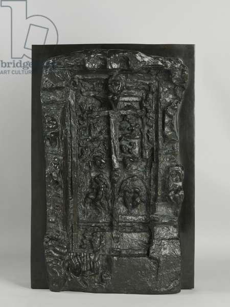 Gates of Hell, Third Maquette, 1880s / cast 1992 (bronze)
