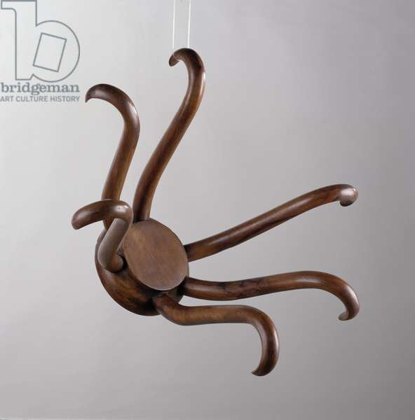 Hat Rack, 1917/64 (wood)
