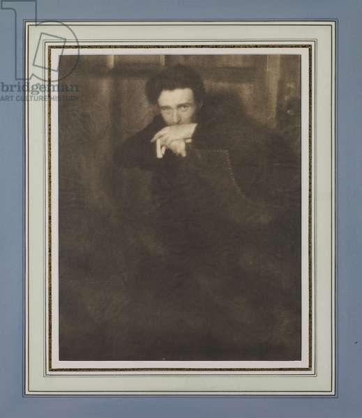 Edward Steichen, 1907 (gum bichromate print)