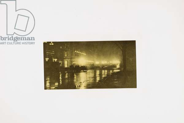 Rainy Day, Paris, 1896 (photogravure)