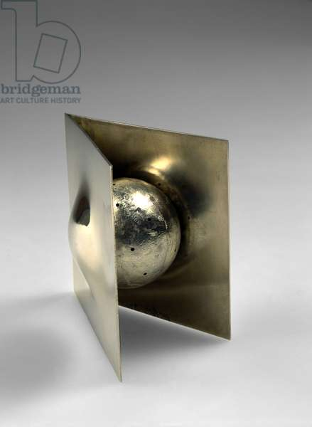Spice Box, 1986 (spun & fabricated silver)
