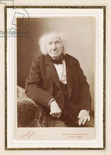 Michel-Eugene Chevreul, 1886 (albumen print)