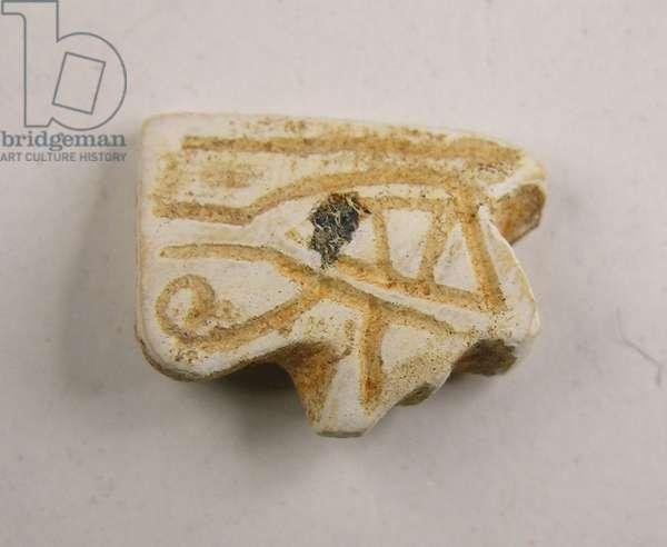 Amulet, Akhzib, Iron Age II, 8th-7th century BC (faience)