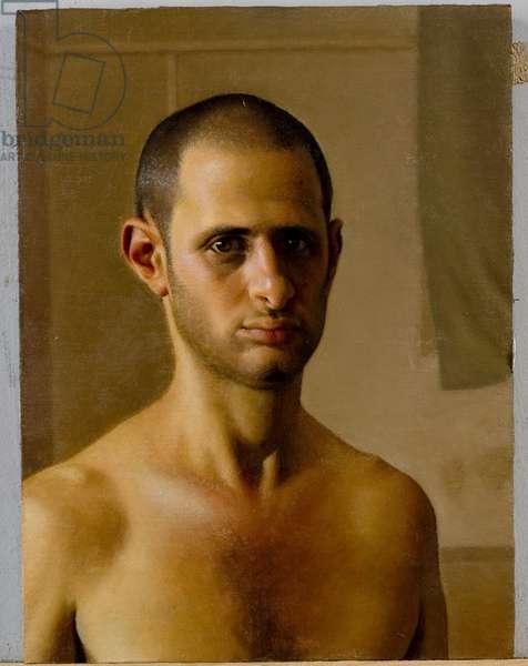 Self-Portrait, 2003 (oil on canvas mounted on wood panel)
