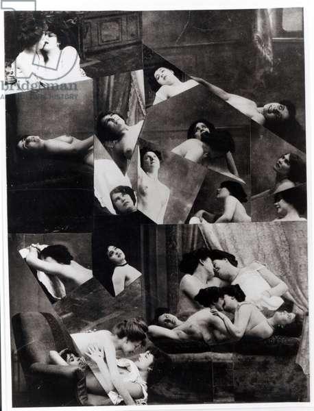The Phenomenon of Ecstasy (photomontage)