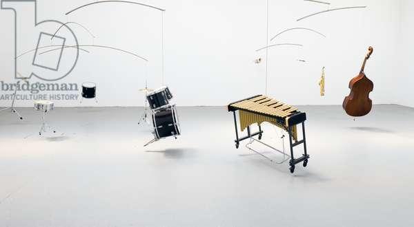 Untitled (Free Jazz Mobile), 2007 (mixed media)