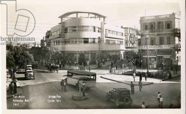 Allenby Road, Tel Aviv, c.1935 (b/w photo)