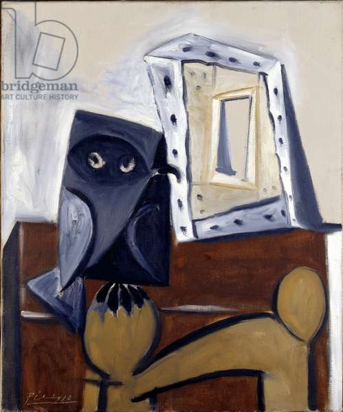 The Owl, 1947 (oil on canvas)