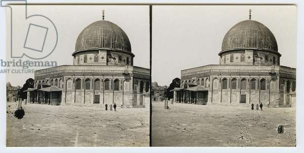 Dome of the Rock, 1850s (gelatin silver print)