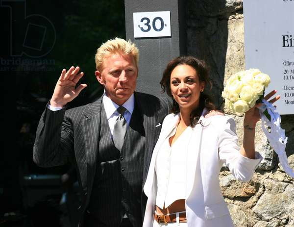 Wedding of Boris Becker