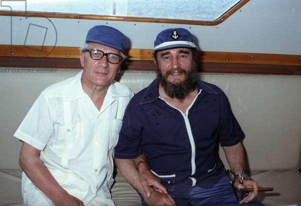 Honecker and Castro