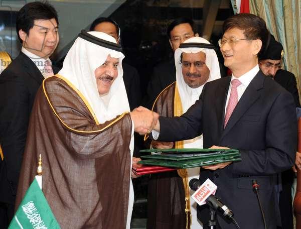 Nayef ben Abdelaziz ben Abderrahmane Al Saud and Meng Jianzhu