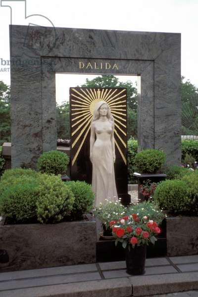 Dalida's tomb