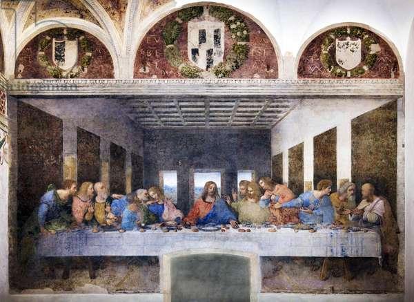 La Cene de Leonard de Vinci