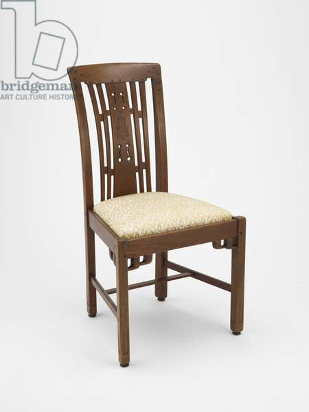 Side Chair, 1907-09 (mahogany & ebony)