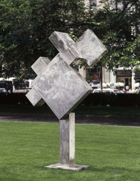 Cubi VII, 1963 (stainless steel)