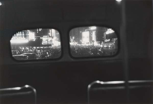 Bus No. 7, New York City, 1950, printed 1980s (gelatin silver print)