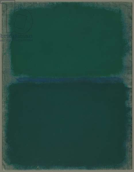 Untitled, 1967 (acrylic on paper mounted on masonite)