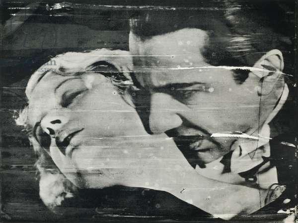 The Kiss (Bela Lugosi), 1963 (screenprint on paper)