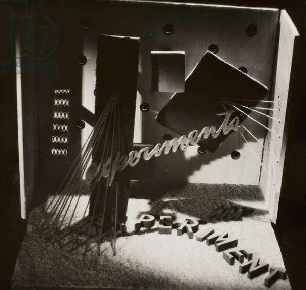 Experiments, 1941 (gelatin silver print)
